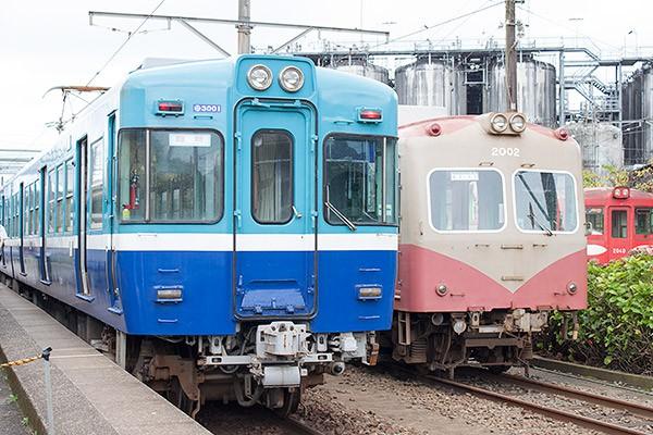 銚子電鉄の貸切電車