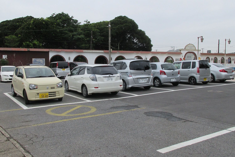 犬吠の駐車場