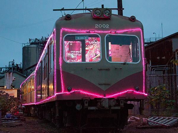 銚子電鉄イルミネーション電車